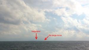 Helgoland querab